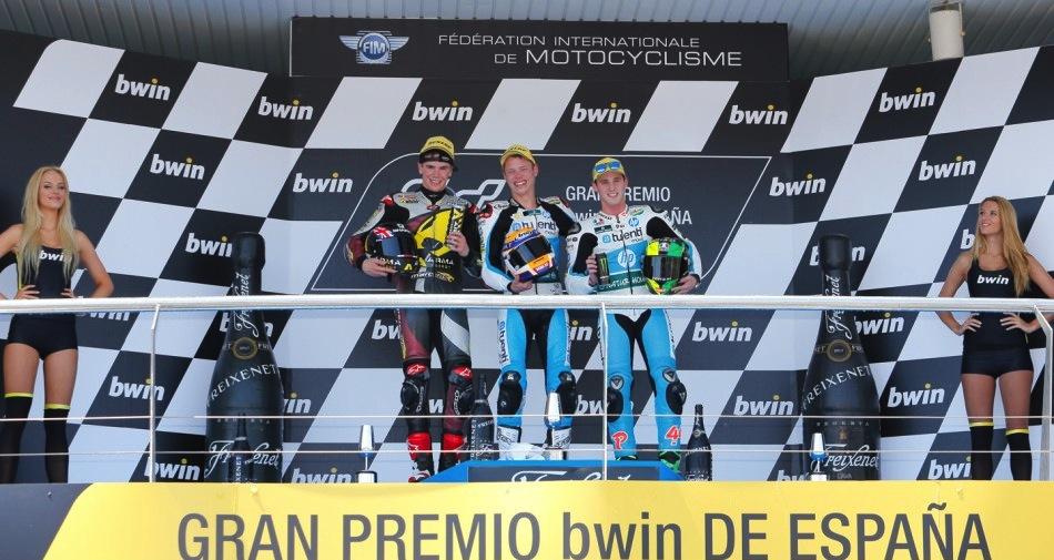 Результаты гонки Moto2 Гран-При Испании 2013