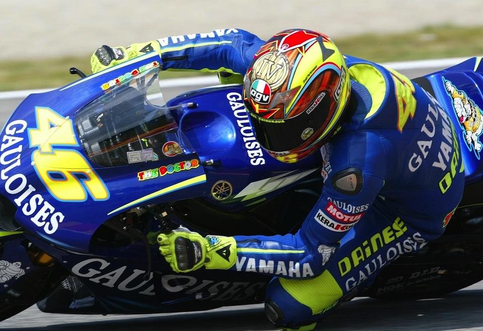 Валентино Росси в Муджелло, 2004 год