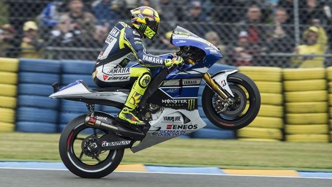Валентино Росси Yamaha 2013