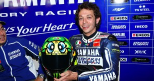 Валентино Росси представил свой новый шлем