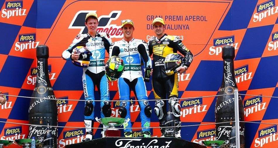 Результаты гонки Moto2 Гран-При Каталонии 2013