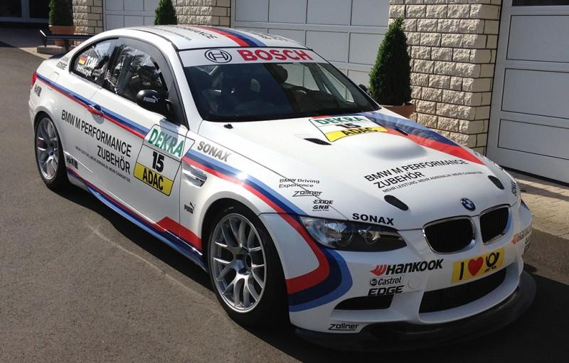 Скотт Реддинг испытает суперкар BMW M3 GT4
