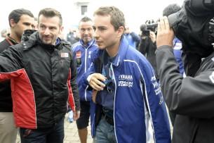 Хорхе Лоренсо веХорхе Лоренсо вернулся в Ассен с надеждой на гонку