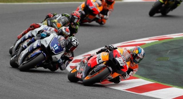 Бэн Спис и Дани Педроса на Yamaha и Honda соответственно