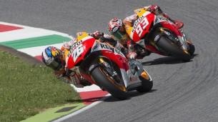 Дани Педроса и Марк Маркес - пилоты заводской Honda MotoGP