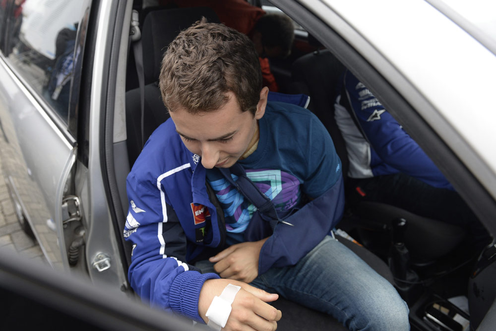 Хорхе Лоренсо вернулся в Ассен с надеждой на гонку