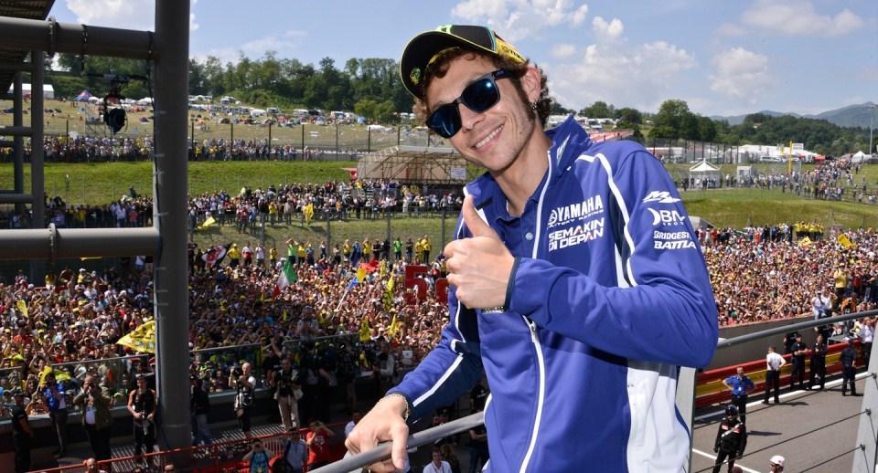 Валентино Росси Гран-При Италии в Муджелло 2013