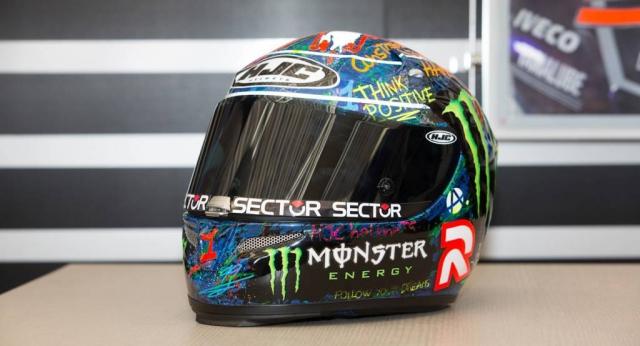 Шлем Хорхе Лоренцо выставлен на продажу в благотворительном аукционе