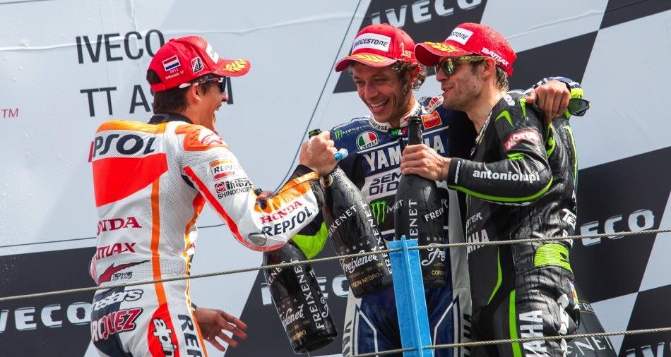 Марк Маркес: Я очень рад, что Вале вернулся на первое место