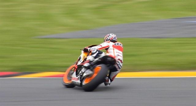 Падение Дани Педросы Гран-При Германии 2013
