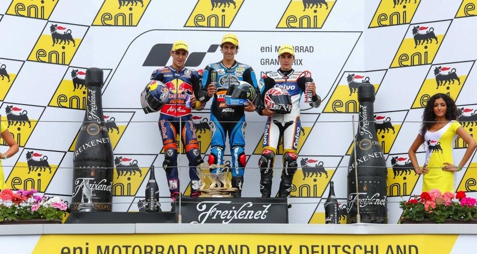 Результаты гонки Moto3 Гран-При Германии 2013