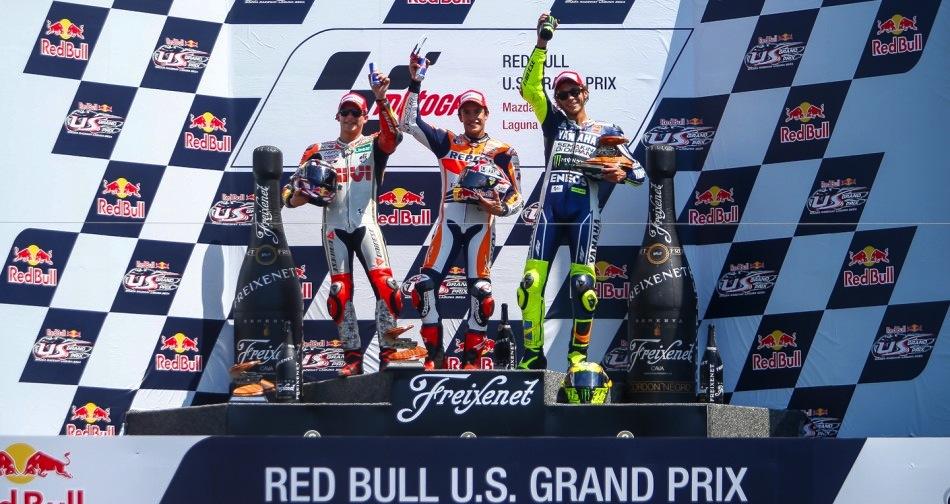 Результаты гонки MotoGP Гран-При США 2013