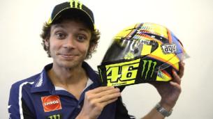 AGV выпускает реплику шлема Валентино Росси