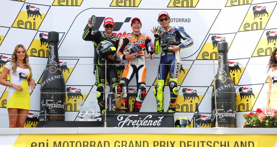 Результаты гонки MotoGP Гран-При Германии 2013