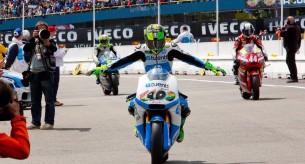 Пол Эспаргаро Гран-При Нидерландов Moto2 2013