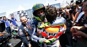 Марк Маркес и Валентино Росси Гран-При США MotoGP 2013