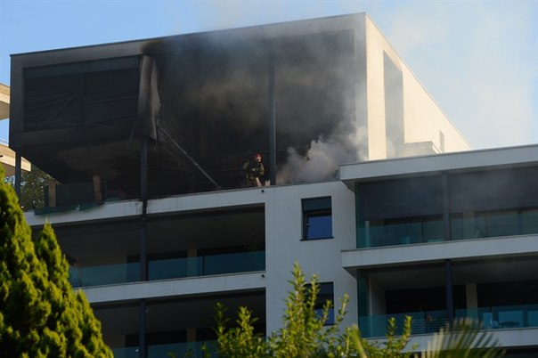 Сгорела квартира Хорхе Лоренцо