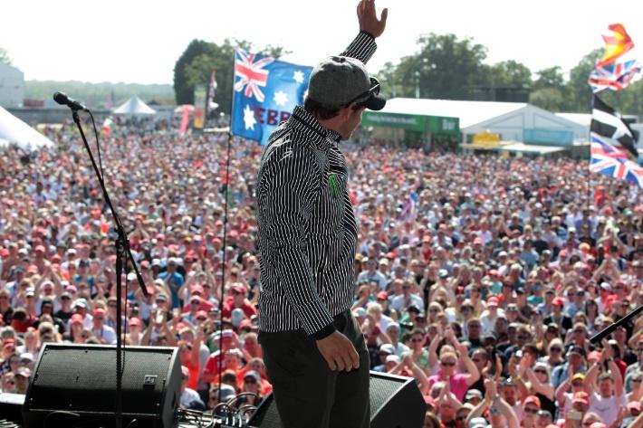 Кэл Крачлоу на этапе Formula 1 2013