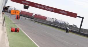 Тесты на трассе в Аргентине
