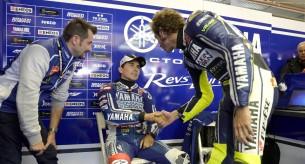 Валентино Росси и Хорхе Лоренцо Гран-При Нидерландов MotoGP 2013