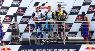 результаты гонки Moto2 Гран-При Индианаполиса 2013