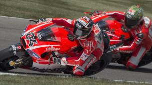 Ducati Ники Хэйден и Андреа Довициозо
