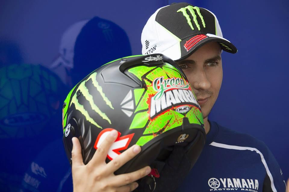 Хорхе Лоренцо вновь вернул на свой шлем изображение мамбы