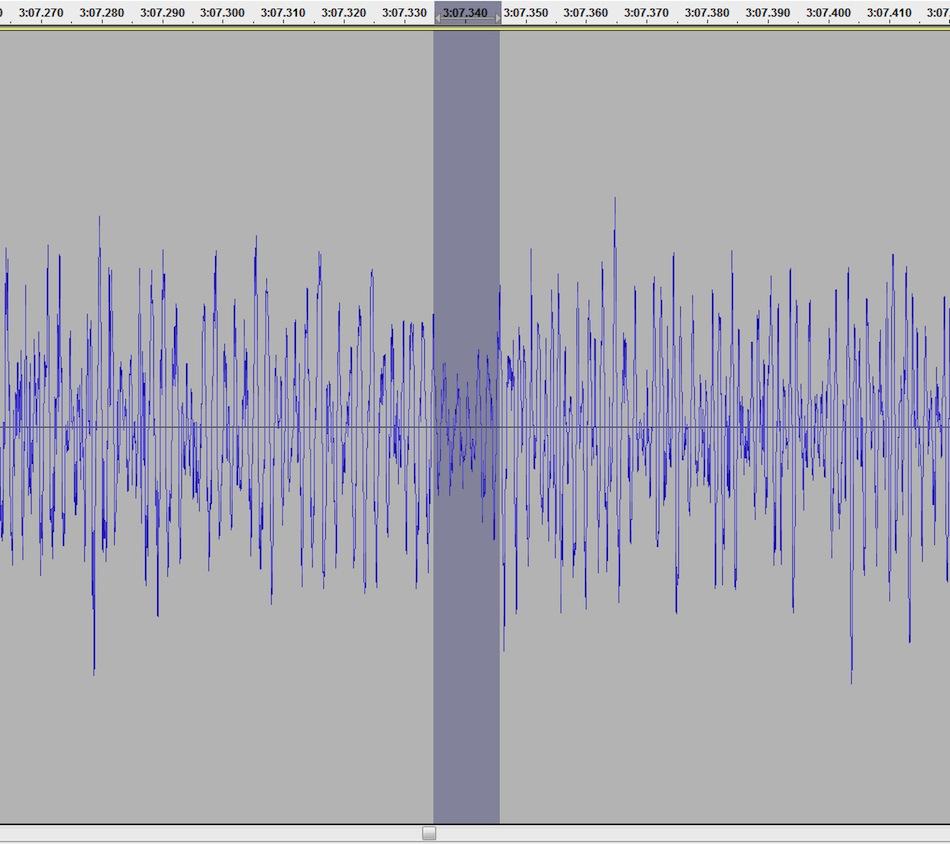 Аудиозапись переключения передач