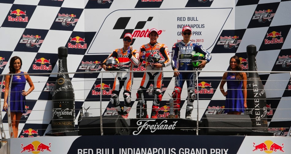 Результаты гонки MotoGP Гран-При Индианаполиса 2013