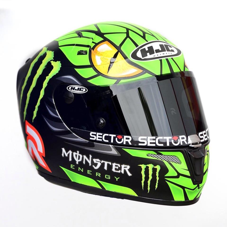 Шлем Хорхе Лоренсо с мамбой MotoGP 2013