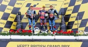 Результаты гонки Moto3 Гран-При Великобритании 2013