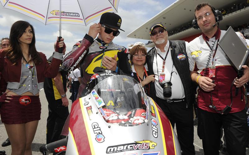 Скотт Реддинг и его команда чемпионата мира Moto2 Marc VDS Racing
