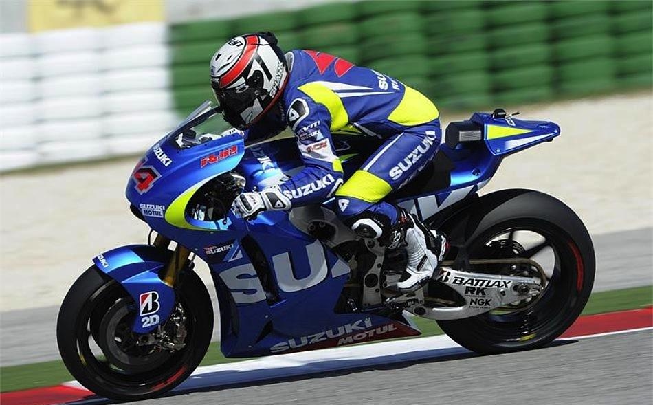 Suzuki закончили трехдневные тесты в Мизано