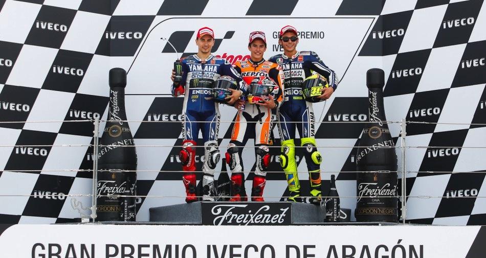 Результаты гонки MotoGP Гран-При Арагона 2013