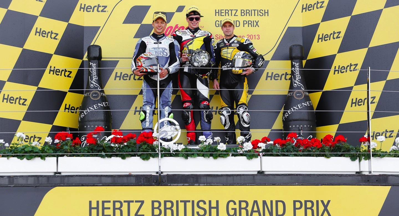 Результаты гонки Moto2 Гран-При Великобритании 2013