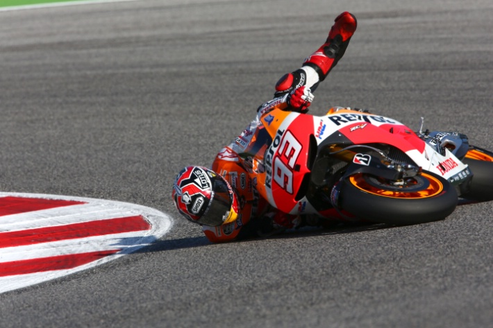 Лидер чемпионата мира MotoGP Марк Маркес