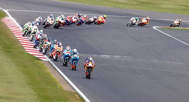 Гонка Moto3 Гран-При Великобритании 2013