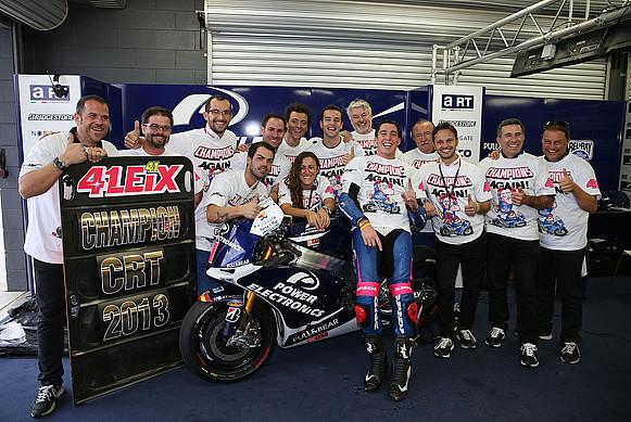 Алекс Эспаргаро досрочно стал чемпионом мира 2013 среди пилотов CRT