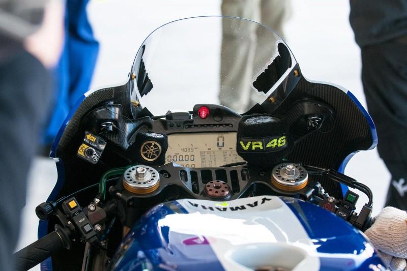 Немного об электронике мотоцикла Валентино Росси