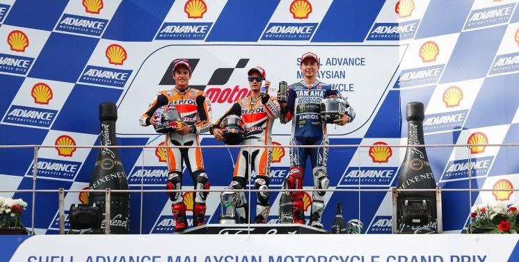 Результаты гонки MotoGP Гран-При Малайзии 2013