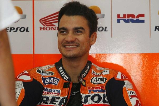 Дани Педроса, гонщик чемпионата мира MotoGP