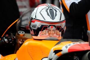 Марк Маркес извинился перед японцами за дизайн своего шлема