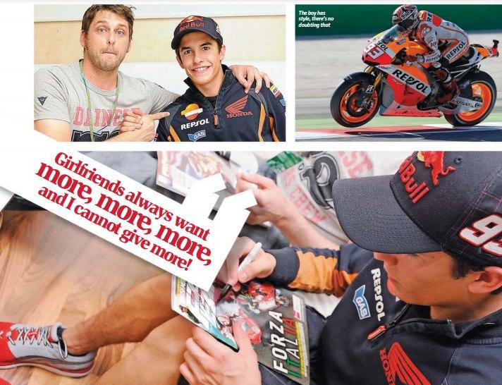 Большое интервью Марка Маркеса для ноябрьского выпуска Fast Bikes Magazine