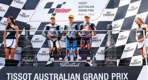 Подиум Moto3 Гран-При Австралии 2013