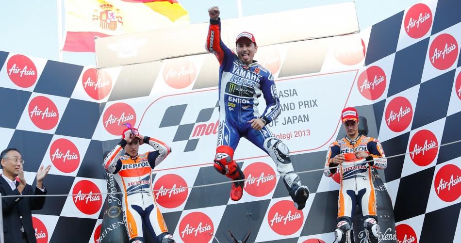 Результаты гонки MotoGP Гран-При Японии 2013