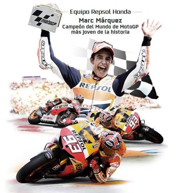 Repsol уже возвела Марка Маркеса в чемпионы мира MotoGP
