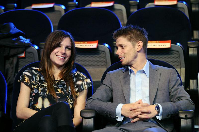 Кейси Стоунер со своей женой Адрианой
