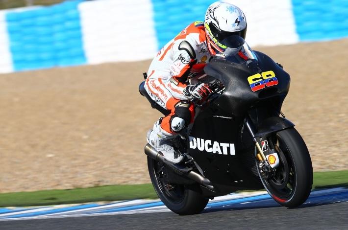 Йонни Эрнандес протестировал мотоцикл Ducati GP Open