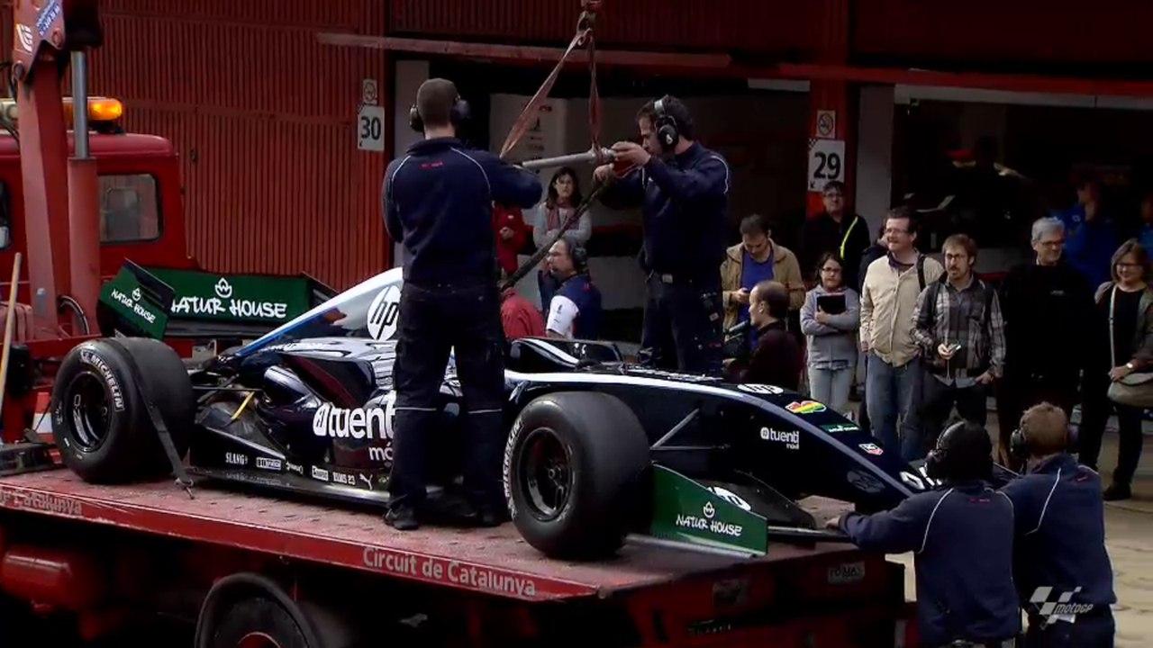 Пол Эспаргаро разбил болид Формулы Рено 3.5