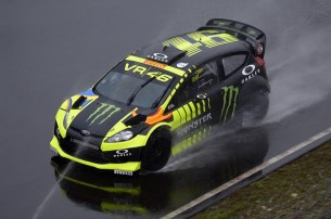 Валентино Росси на Monza RallyShow